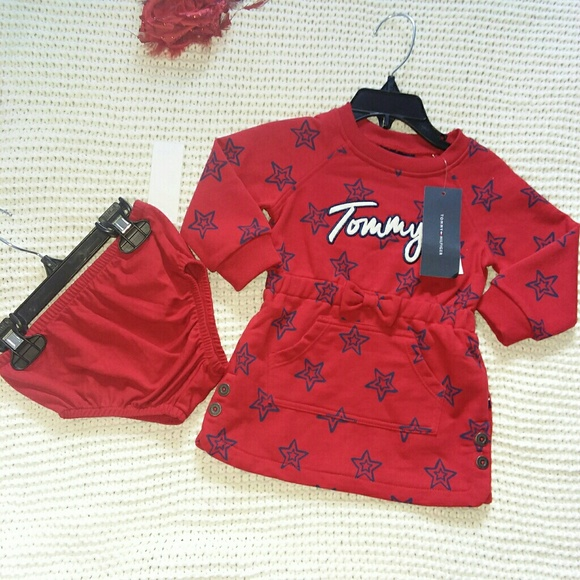 Tommy Hilfiger Other - Tommy Hilfiger 12m sweater dress and diaper cover